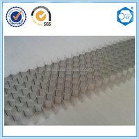 Aluminum honeycomb core for composite ceiling panel