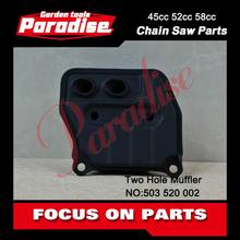 5200 Two Hole Muffler For Chainsaw Performance Parts