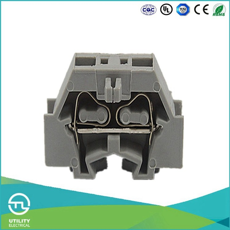 UTL JUT3-2.5F Spring Cage Clamp Terminals Insulated Terminal Block Free Sample Worldwide