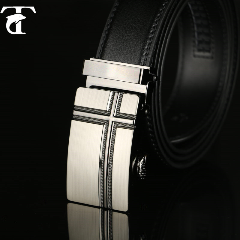 2015 New Men's Leather Belt Fashion Luxury Top Brands Designers Belts For Men