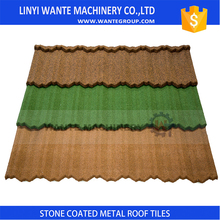 stone coated metal roof tile European German Italian Spanish,Construction Material Metal Stone Coated Roof
