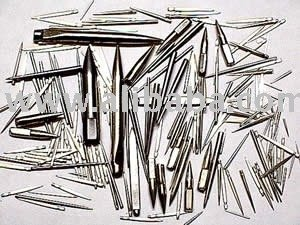 Textile Pins, Steel Tapered pins