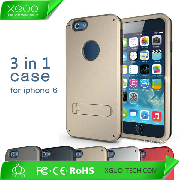 New stand mobile phone case for iphone 6