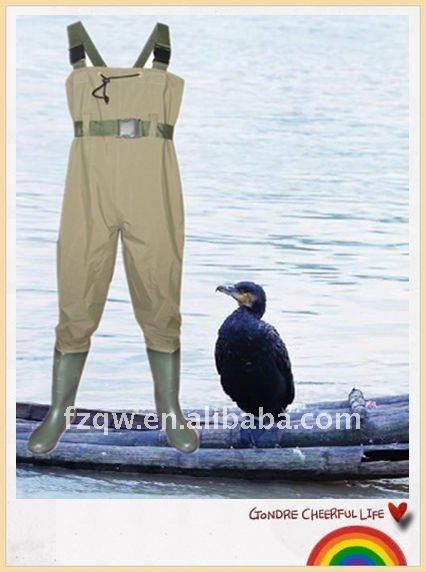 outdoor fly chest fishing wader