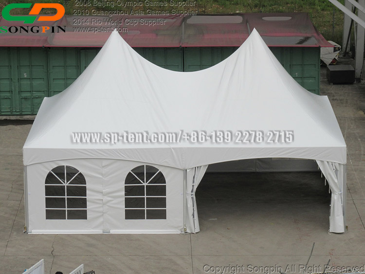 6x9m easy up double high peak tension tent with Anti-UV fabric for sale