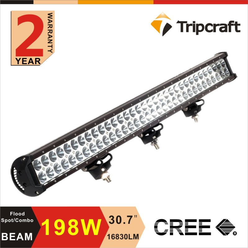 2015 new c ree led offroad light 198W LED light bar 30 inch dual row led driving light bar with IP67/IP68