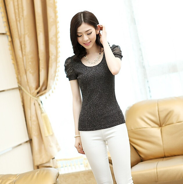 d20465f 2015 summer new fashion lace mesh tops women tops