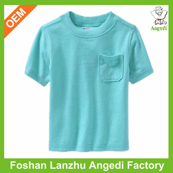 Wholesale childrens clothing plain organic cotton t-shirt reggae