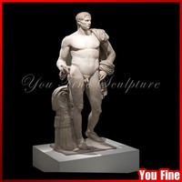 Decorative Natural Carved Graden Marble Man Statue