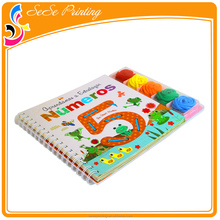 Full Color Printing Wire Binding Children's Printing Activity Book