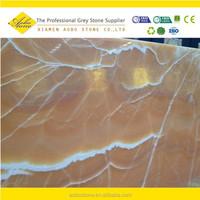 Iran onyx orange stone big slabs Own quarry