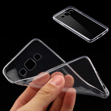 New Products 0.75mm Ultra-Thin Clear Tpu Phone Cover Case For Samsung A5 2017