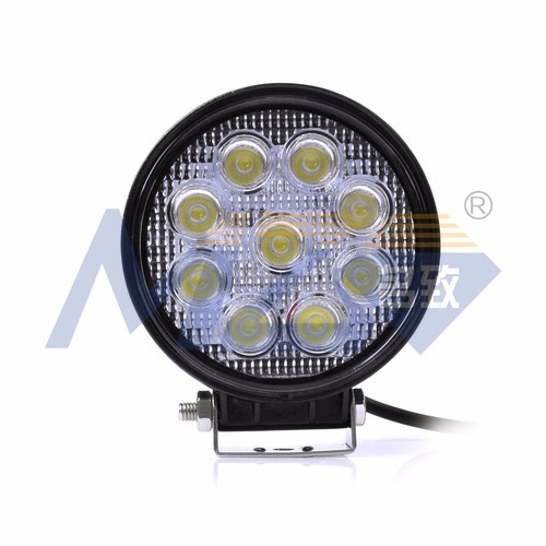MZ Auto Lamp LED Off Road Lights IP67 HOT 27W led work light LED Headlights for ATV SUV JEEP 2025LM Cheap factory wholesale RoHS