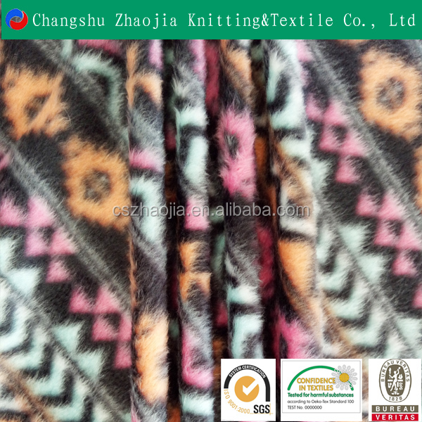 Wholesale 100% Polyester super soft weft knit polar fleece fabric for blanket for Garment fabric