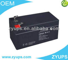 Deep Cycle Lead Acid Battery VRLA Battery 12V 1.3AH