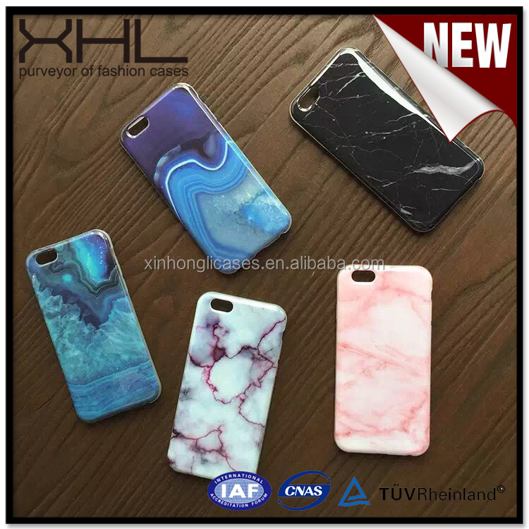 High demand import products IMD painted marble cell phone case