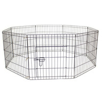 High Quality Folding Colored Metal Pet Crate Dog Playpen