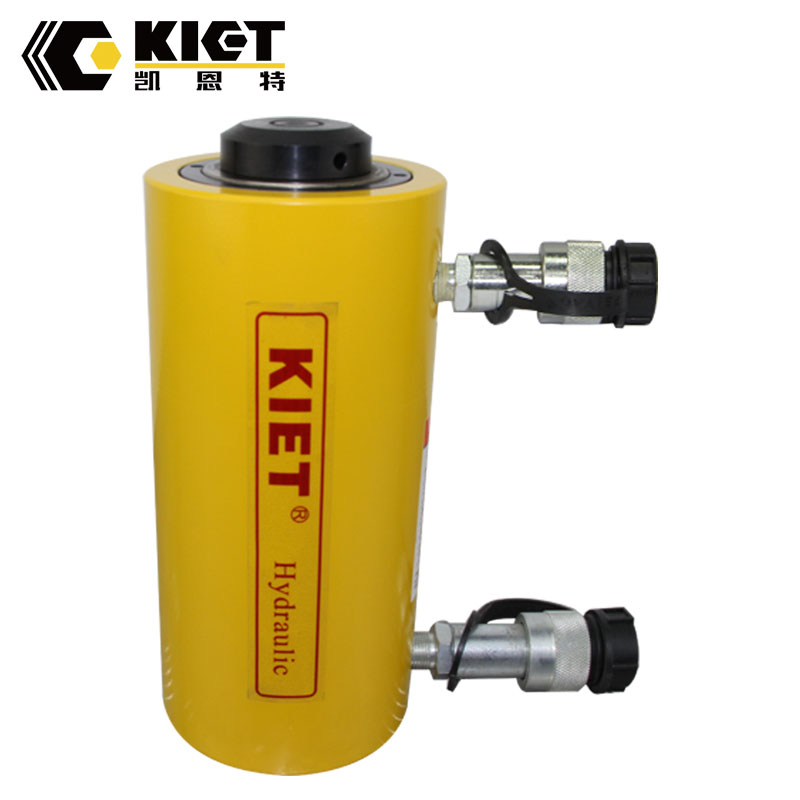 RR series telescopic hydraulic cylinder with end caps for sale