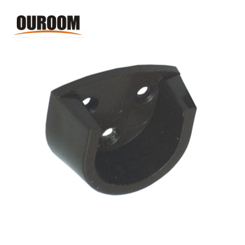 Ouroom product tower rack bracket holder flush end post for bathroom