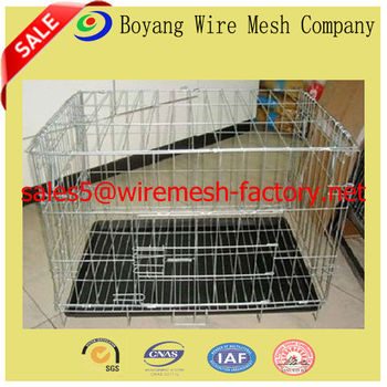 welded wire mesh Pet Crate Dog Cage