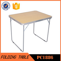 Outdoor Furniture High quality Aluminum folding picnic table PC1886