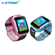 1.44'' Colorful Touch Screen Cheap GPS Tracker Kids Security GPS Smart Watch With GSM SOS Calling Pedometer Function For Child