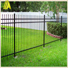 Spear top fence black Aluminum fence for bakcyard