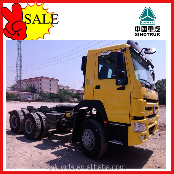 Inexpensive/ new type/ SINOTRUK howo 336hp tractor truck from the old east