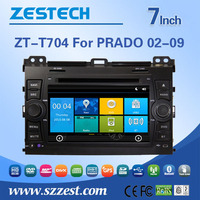 fit for toyota prado 2002 2003 2004 2005 2006 2007 2008 2009 car dvd player