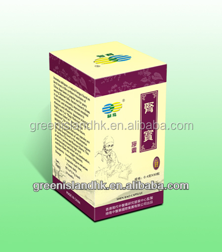 Traditional Chinese Medicine Shen Bao Capsule for healthy sexuality/Impotence/premature ejaculation