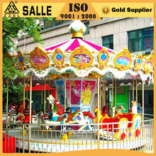 New Fashion Design Indoor & Outdoor Kids Fun Park Amusement Play Rides Carousel Horse Merry Go Round