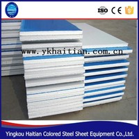 Building Material Light Weight Fireproof Steel Wall EPS Sandwich Panel