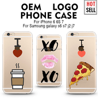 UV printing mobile phone case cover for iphone 6 case shockproof for iphone 6s case silicon cute case for samsung galaxy j1j2 s7