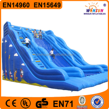2015 new style customized giant jumping commercial grade inflatable water slides,inflatable water slides wholesale for sale