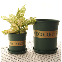 ArmyGreen color 1 gallon 1.5 gallon 2 gallon 3gallon 5 Gallon plastic flower pots for nursery
