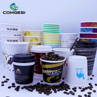 Cups Disposable_PE Coated Custom Paper Cups_ Paper coffee Cups