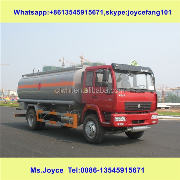Oil Tank Vehicle Fuel/petrol Truck / Velicle Volume 15000l