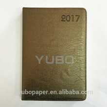 YB-1250 A5 PU leather diary hot soft cover journal book