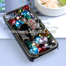 3D Luxury Handmade Bling Crystal Diamond Elephant Hard Case for iphone 5 5g 5th