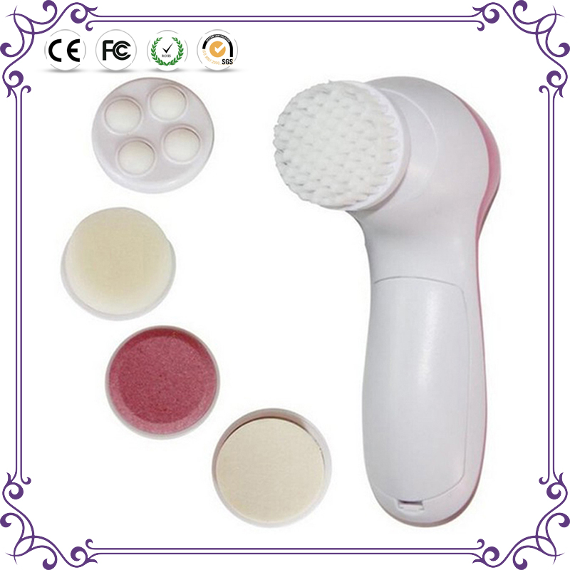 High quality electric facial cleaning brush cosmetic makeup brush