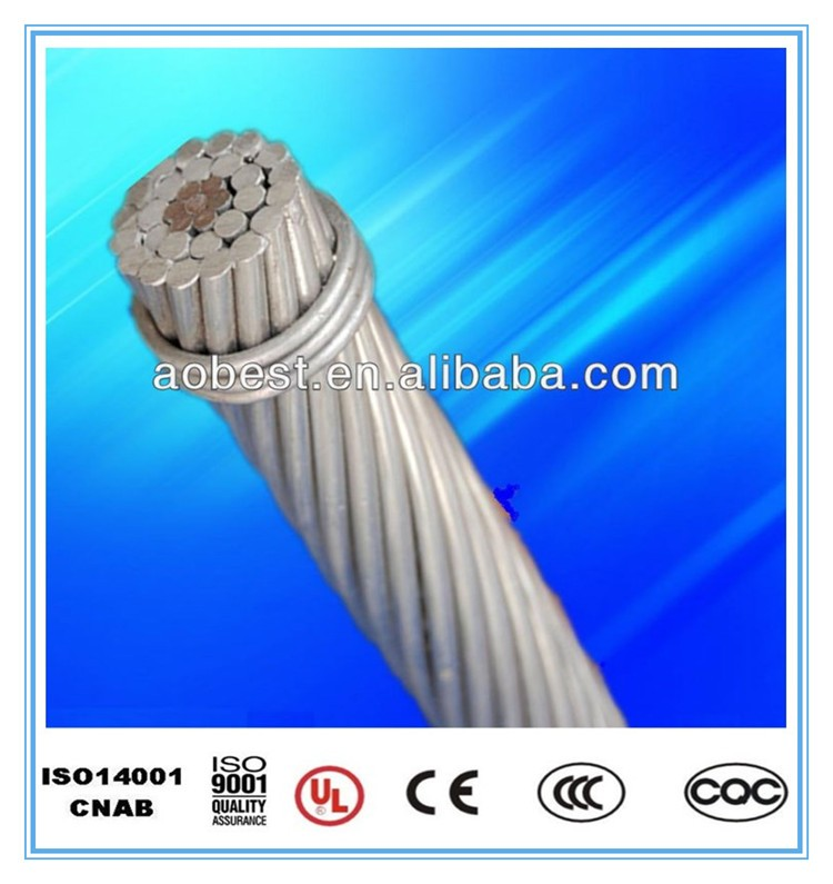 ASTM BS IEC DIN GOST Standard AAC ACSR bare Conductor Cable