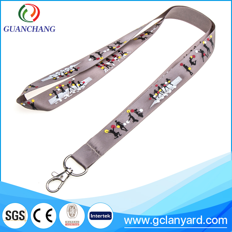 Free sample neck cord keychain tool lanyard with logo printing