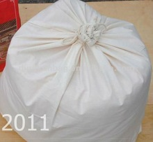 2012 latest design 100% durable cotton washing bag