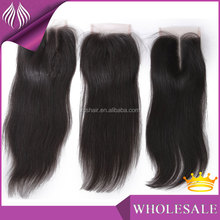 good price cheap brazilian straight 3 way part closure
