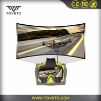 2017 TOVSTO 5.8GHz HD 1280*800P Virtual Reality 3D 7 Inch Screen Eyewear Video Glasses
