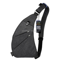 Ladies Sling Bag Shoulder Chest Cross Body Backpack Lightweight Casual Outdoor Sport Travel Hiking Multipurpose Anti Theft Bag