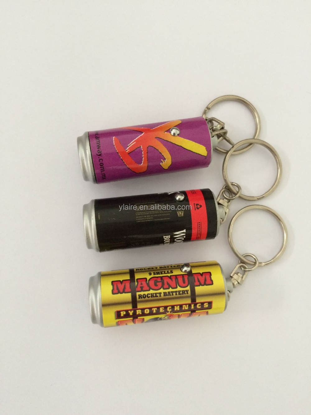 Hot promotional ! custom aluminum cans with led projector function