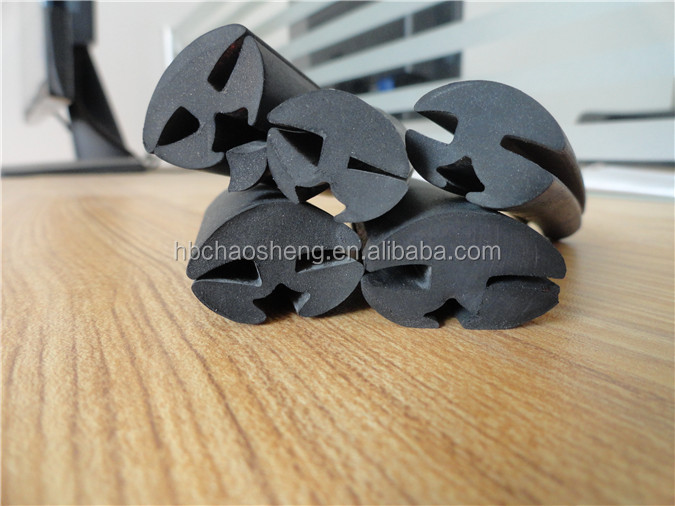 rubber for glass edges,auto glass rubber edges