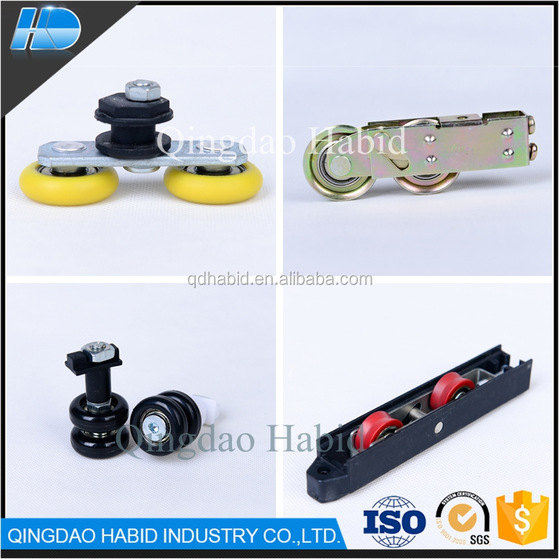PP Nylon Plastic V U groove Bearing rollers wheels factory price aluminium sliding door window roller wheels