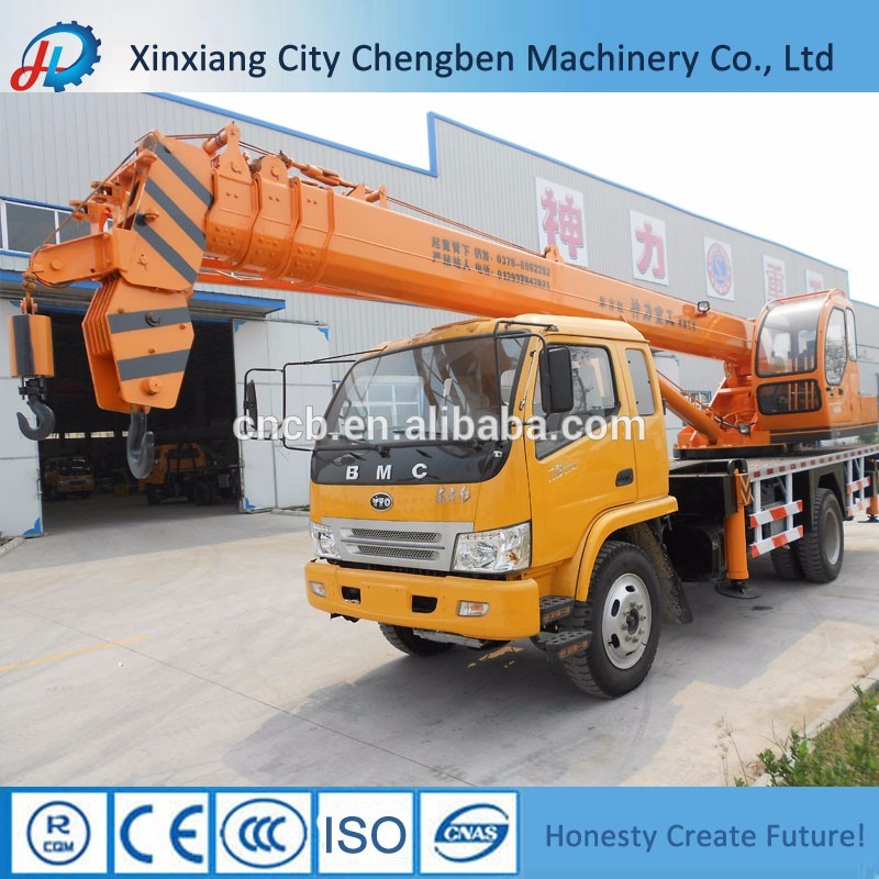 Powerful China light fuel mobile truck crane dimensions for sale